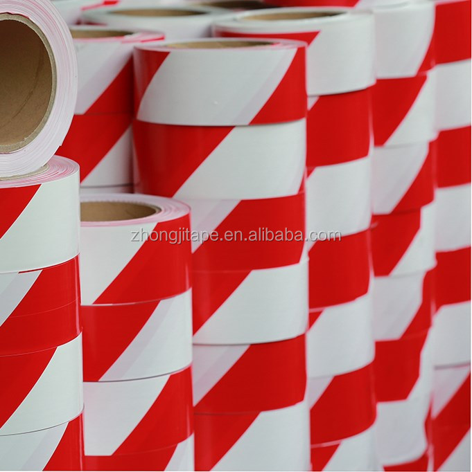 Standard red/white pe barrier tape