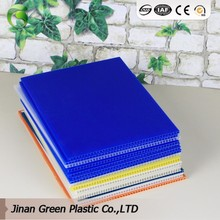 Green Brand Decoration Board PP Hollow Plastic Board For Floor Cover Board