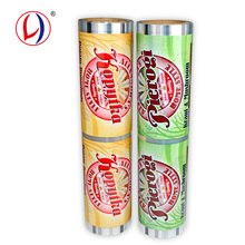 Food Grade Laminated Plastic Cup Sealing Film Roll For Customized