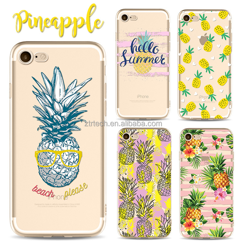 For Samsung S8 S9 Case Custom Printing 3D Blank Oem Tpu Fruit Phone Case for iphone 7 plus 7