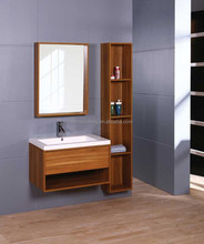 Modern MDF Laminated Melamine Bathroom Vanity, melamine board on particleboard/plywood/mdf