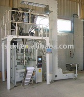 mixed fruit chips snack packing machine