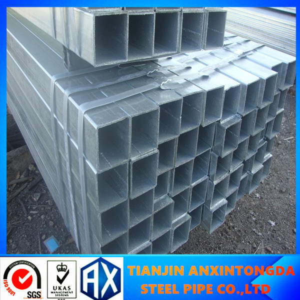 15X15 steel pipe joint/steel fence posts for sale/square hollow section iron pipes
