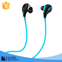 For sports running wired bluetooth headset qcy qy7 bluetooth headset new model bluetooth headset