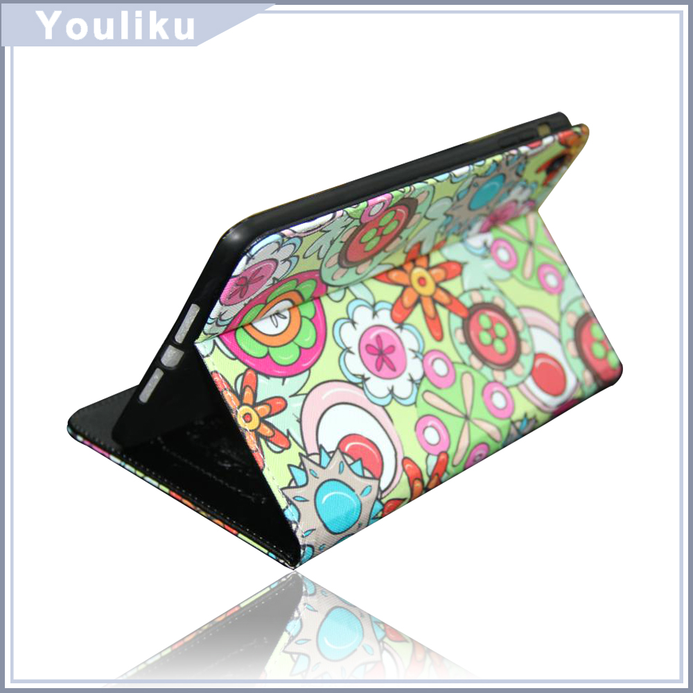 wholesale new products colorful fashion style design Tablet pc stand case cover for ipad mini / air 2 / mini 4 tablet cover