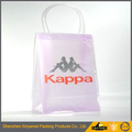 Zippered Clear Stadium Box Pvc Tote Bag for shopping
