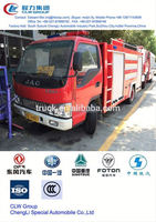 popular JAC fire engine,3000 m3 inflatable fire truck