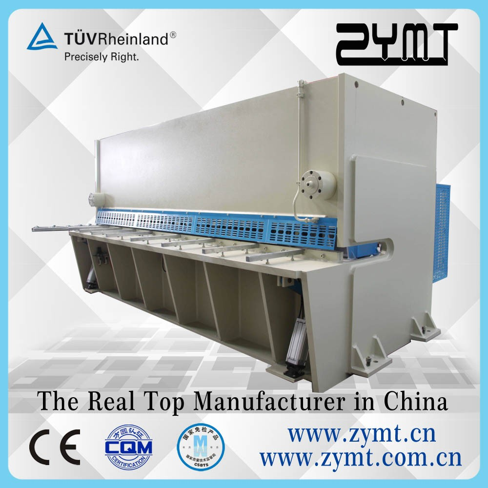 cnc sheet metal cutting and bending machine with manual adjustable blade gap