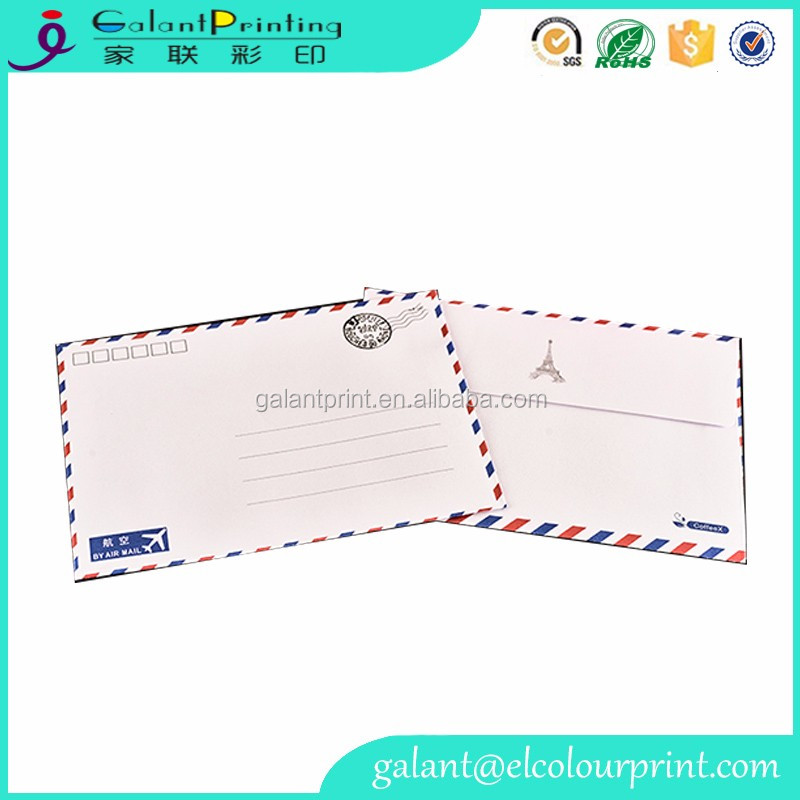 Custom design Classical fancy paper for envelopes printing