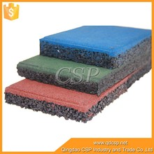25mm to 40mm Thick Gym Flooring heavy duty Rubber Gym Mat
