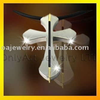 factory price cross titanium pendants for Christians