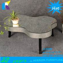 Jingshijie cheap mirror modern coffee tables furniture