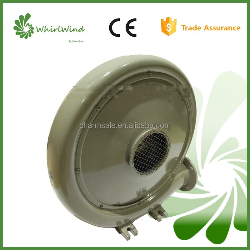 aluminium/cast iron/plastic middle pressure centrifugal blower fan for inflatable slide and jumping castle
