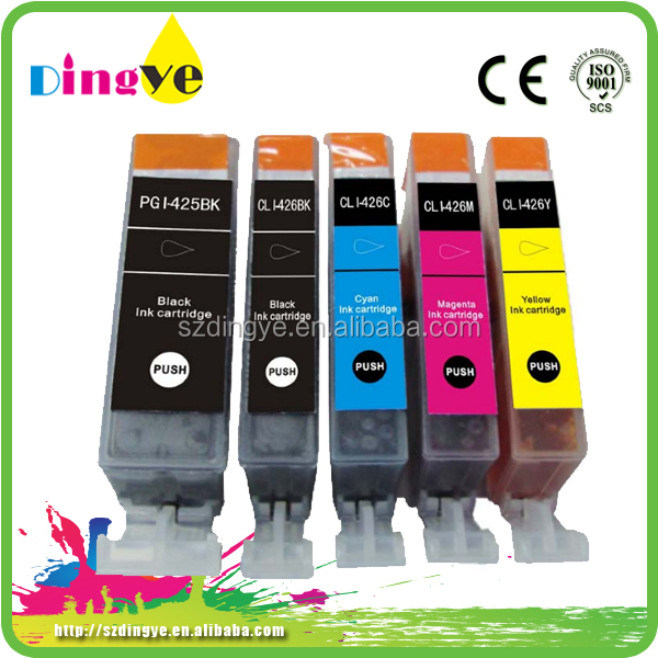 Factory direct supply OEM ink cartridges for canon PGi-425 CLi-426 brand new/compatible ink cartridge