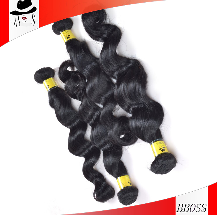BS Top Quality 100% virgin brazilian hair bosin hair