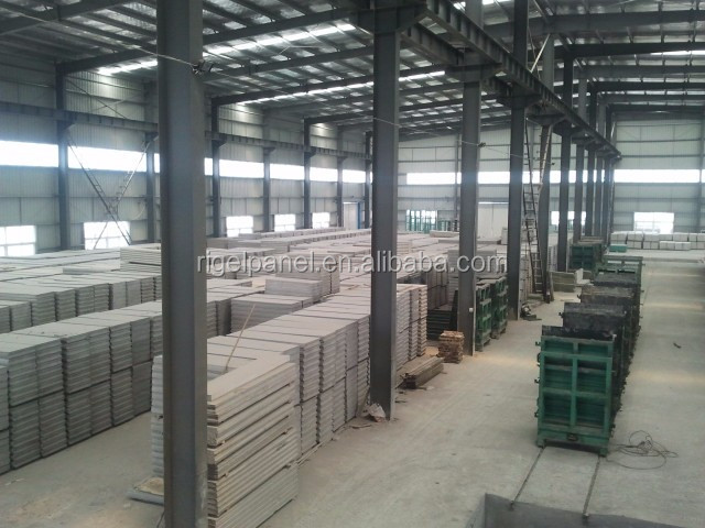 Prefabricated Compound Wall : Eps concrete low cost compound wall panel prefabricated