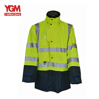 Yellow Excellent Various Colours Reflective Jacket