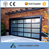 Aluminium Glass Garage Door With High Quality Can Use APP By WIFI Touch Price