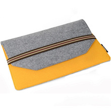 2017 New style polyester felt a4 paper document folder