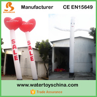 Heart Shape Inflatable Waving Air Tube For Promotion Activity