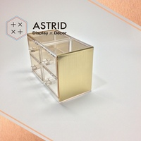 Acrylic Cosmetic Shelf Display Acrylic Display Cosmetics for High End Acrylic Organizer For Cosmetic