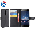 PU Flip Wallet Leather Case For Homtom HT37