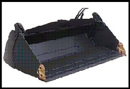 skid loader attachments 4 in 1 bucket