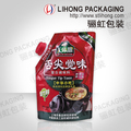 Moisture Proof Aluminum Foil Plastic Spout Custom Bags For Food Preserved