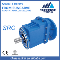 SRC series helical gear units