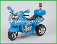 Children plastic electric three wheels kids ride on motorcycle ride on car