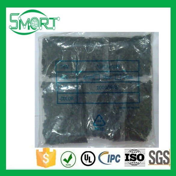 ~Smart Bes! Free Shipping 2000pcs/lot 2.54mm spacing closed mouth MINI JUMPER,Jumper cap,Row needles /pin header mini jumper in