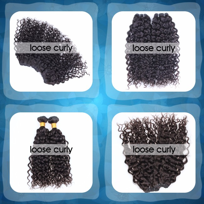 Factory aofa hair loose curly tape natural remy extensions hair