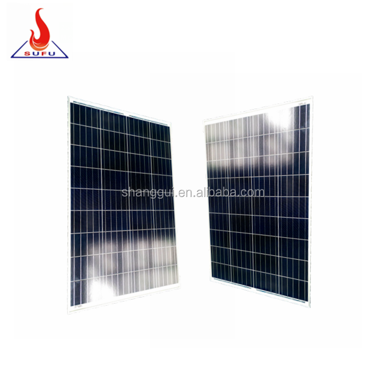 Off grid solar kit 12v 100w poly solar module polycrystalline 100watt solar panel