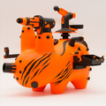 PVC weapon animal vinyl toy figures/produce PVC vinyl toys with your own idea/custom make plastic vinyl toy manufacturers