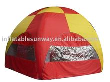 inflatable circle tent/inflatable camping tent