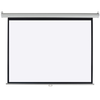 4:3 Projection Screen Pull Down Home Movie Theater