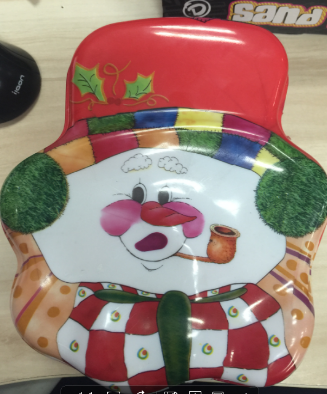 Decorative Father Christmas Box