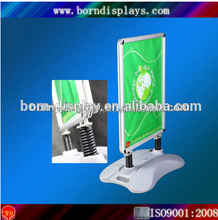 Outdoor Display Open Aluminum Frame A0 Strong Plastic Base Waterbase Advertising Board