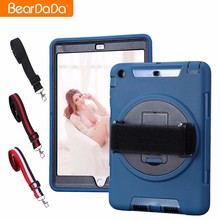 Promotions 360 Degree hand strap for ipad mini 2 rotate case