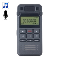 BY000 8GB Digital Voice Recorder Dictaphone MP3 Player, Support LIN-IN Recording and Telephone Recording digital voice recorder