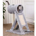 AU Multi Level Cat Tree Scratching Post Scratcher Pole Gym Toy House Furniture