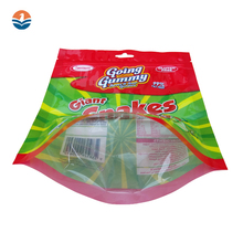 Biodegradable Stand Up Pouch Food Packaging Plastic Bag with Ziplock