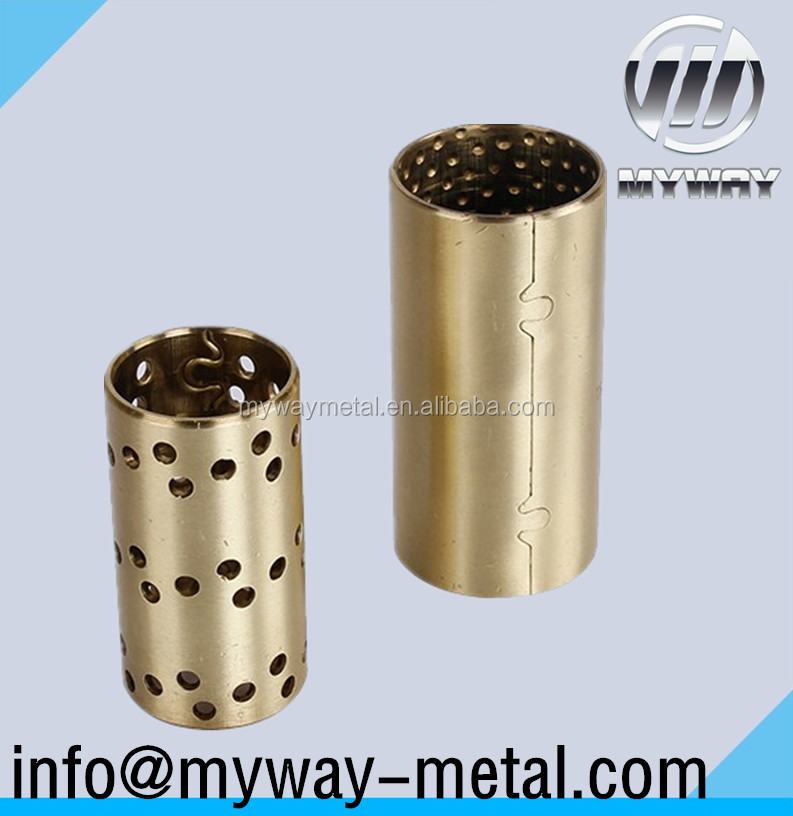 FB091 Oilless Bronze Sliding Self Lubricating Bearing Bushing