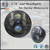 4x4 auto parts accessories 30w motorcycle led light 5.75 round led headlight hi/lo beam mortorcycle headlight