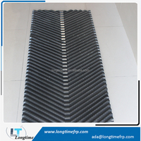 2015 New Products China Factory Price pvc sheet infill black liang chi cooling tower fill media types