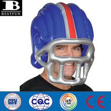custom made large plastic American inflatable football helmet kids play football helmets for sale