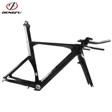 Classical Dengfu Carbon Time Trial TT Frame FM087 Carbon Triathlon TT bike Frame