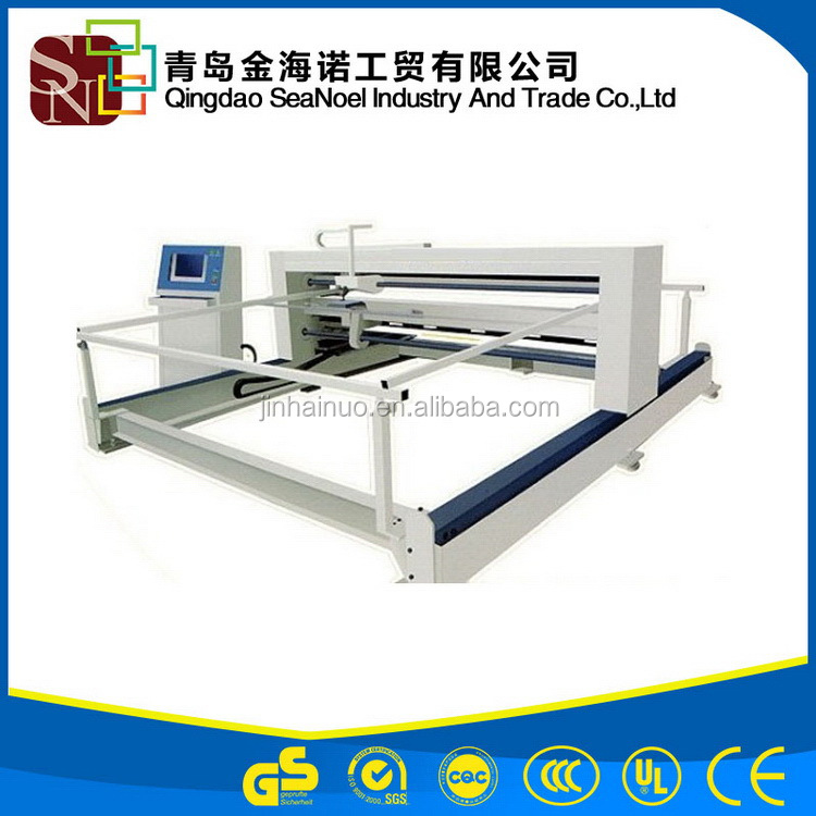 Alibaba new type automatic high speed single needle quilting machine