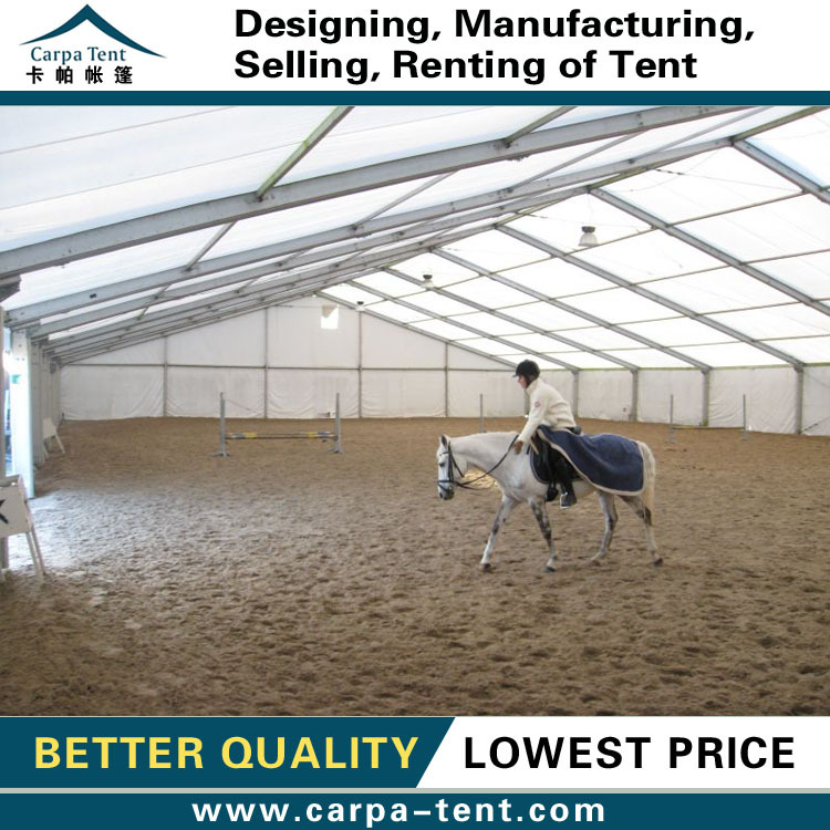100% water proof horse riding tents for horseback arenas for sale 20*40m