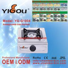 YG-G1004 mobile gas range gas stove gas cooker red color